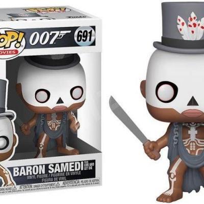 Movies bobble head pop n 691 james bond baron samedi