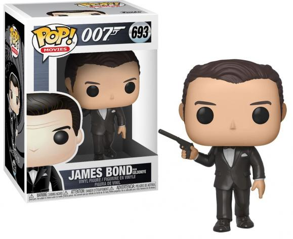 Movies bobble head pop n 693 james bond goldeneye