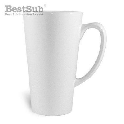Mug blanc coniques latte grands js coating sublimation transfert thermique eu js052 1