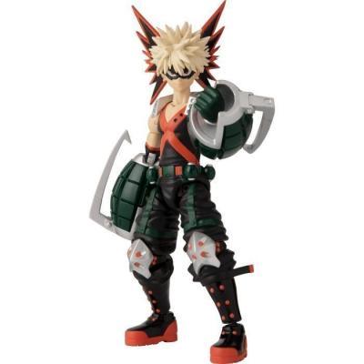 My hero academia bakugou katsuki figurine anime heroes 17cm