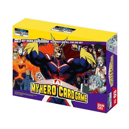 My hero academia decks all might all for one jeu de cartes