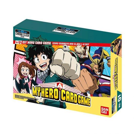 My hero academia decks i midoria class 1 a jeu de cartes
