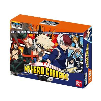 My hero academia decks k bakugo s todoroki jeu de cartes