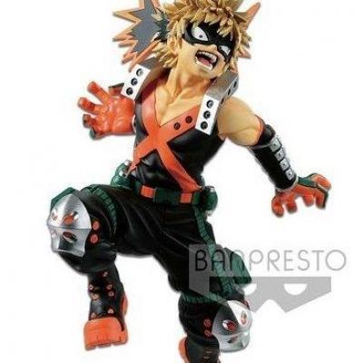 My hero academia figurine king of artist katsuki bakugo 18cm