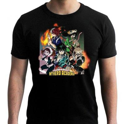 My hero academia group t shirt homme