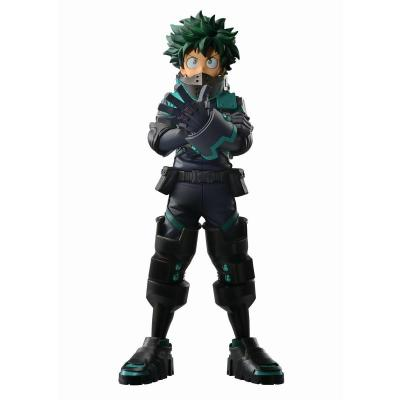 My hero academia izuku midoriya figurine ichibansho 24cm