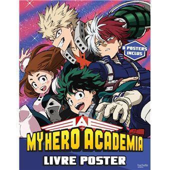 My hero academia livre 8 posters 1