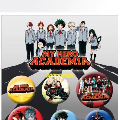 My hero academia mix pack de 5 badges