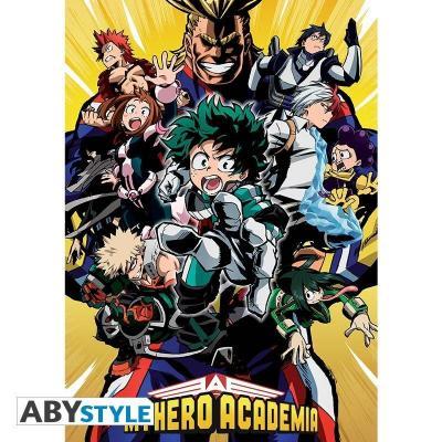 My hero academia poster 91x61 groupe