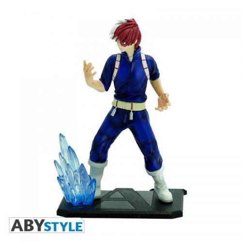 My hero academia shoto todoroki figurine sfc 17cm