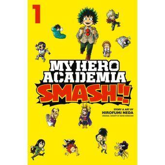 My hero academia smash tome 1