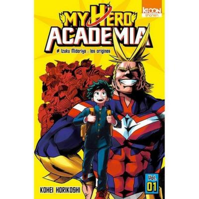 My hero academia tome 1