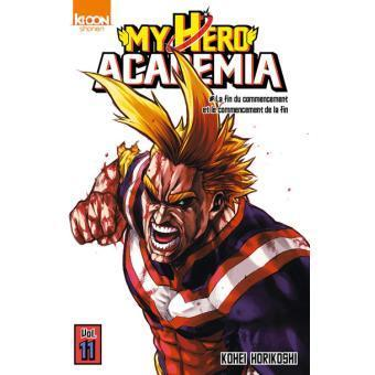 My hero academia tome 11
