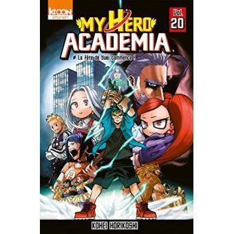 My hero academia tome 20