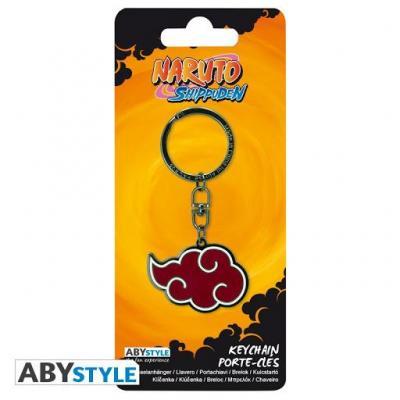 Naruto akatsuki porte cles en metal