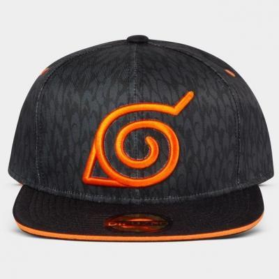 Naruto badge casquette