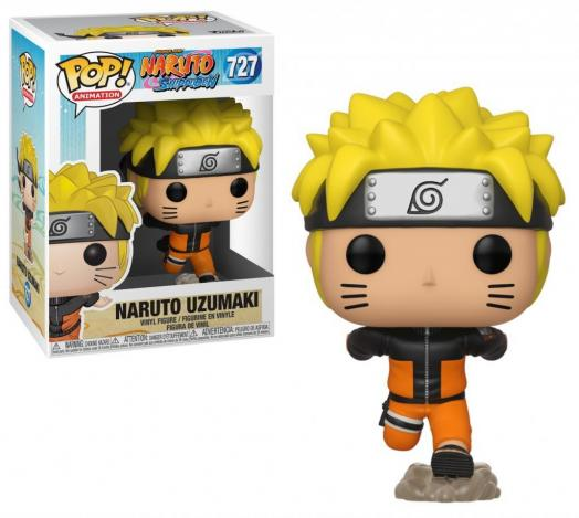 Naruto bobble head pop n 727 naruto running