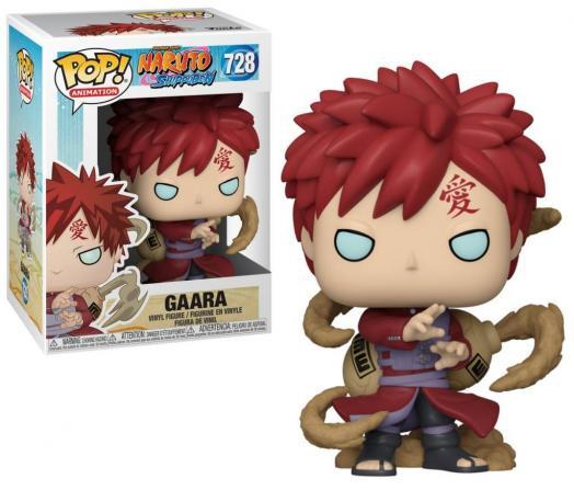 Naruto bobble head pop n 728 gaara