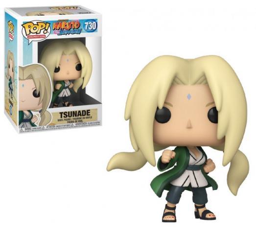 Naruto bobble head pop n 730 lady tsunade
