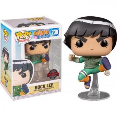 Naruto bobble head pop n 739 rock lee sp edition