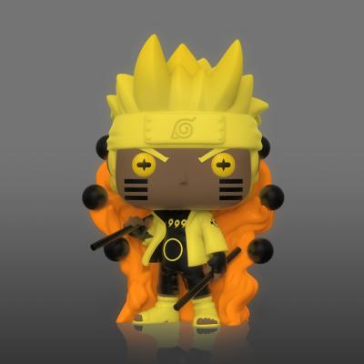 Naruto bobble head pop n xxx naruto six path page glow