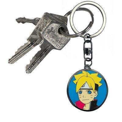 Naruto boruto porte cles en metal