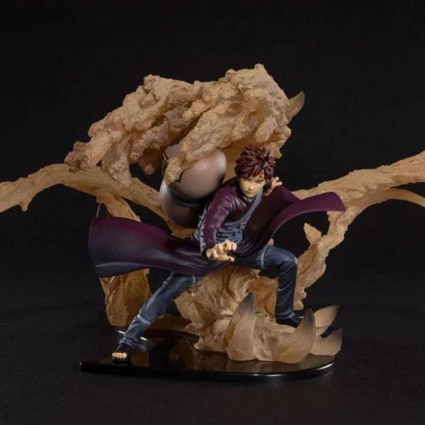 Naruto gaara kizuna relation figurine figuartszero 17cm