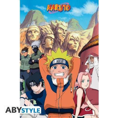 Naruto groupe poster 91x61cm