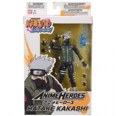 Naruto hatake kakashi figurine anime heroes 17cm