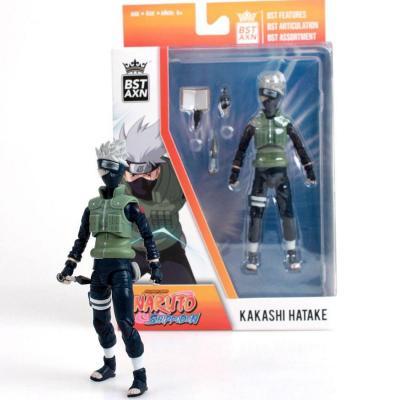 Naruto kakashi hatake figurine bst axn 13cm