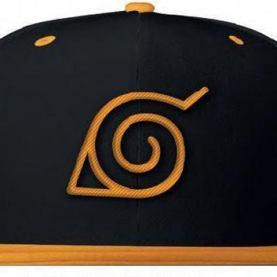 Naruto konoha orange casquette
