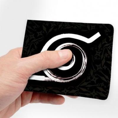 Naruto konoha portefeuille vinyle