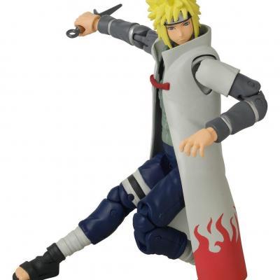 Naruto namikaze minato figurine anime heroes 17cm