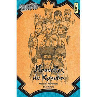 Naruto roman t08 nouvelles de konoha