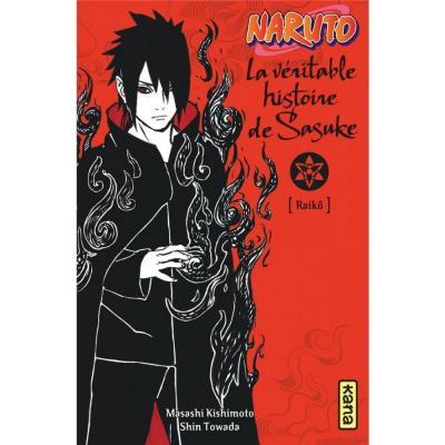 Naruto roman t09 la veritable histoire de sasuke