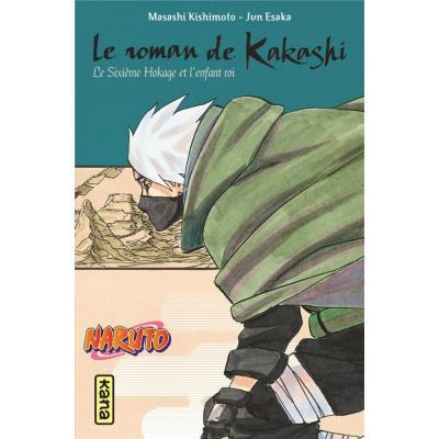 Naruto roman t12 kakashi retsuden