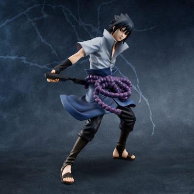 Naruto sasuke uchiha statuette g e m series 24cm