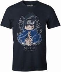Naruto sasuke uchiha t shirt homme