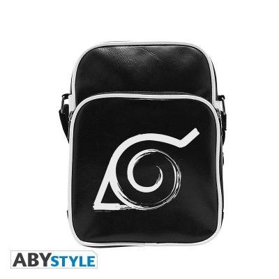 Naruto shippuden messenger bag vinyle konoha small size