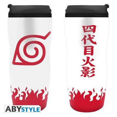 Naruto shippuden mug de voyage 355ml yondaime hokage