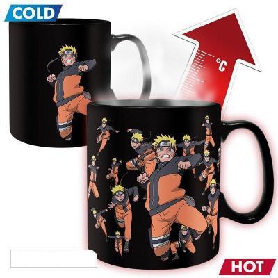 Naruto shippuden mug thermoreactif 460 ml multiclonage
