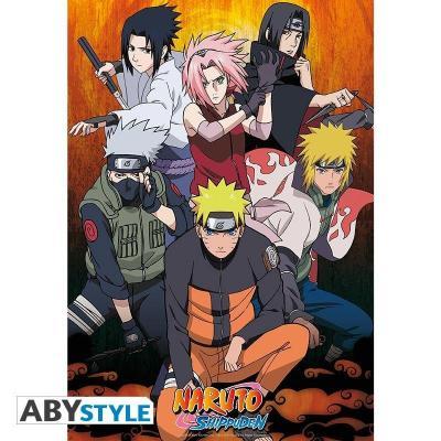 Naruto shippuden poster 91x61 groupe