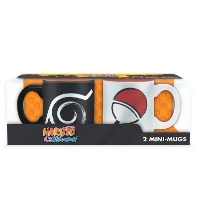 Naruto shippuden set 2 mini mugs konoha uchiha