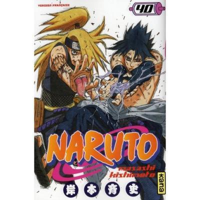 Naruto tome 40