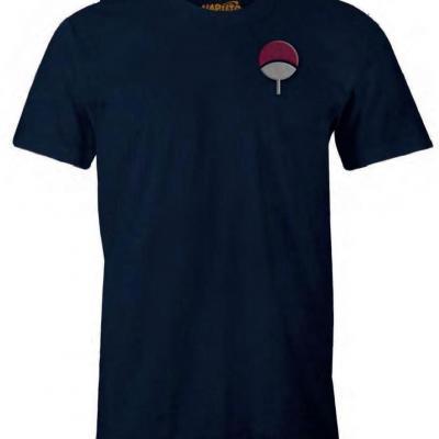 Naruto uchiwa t shirt homme