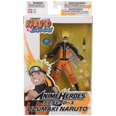 Naruto uzumaki naruto figurine anime heroes 17cm