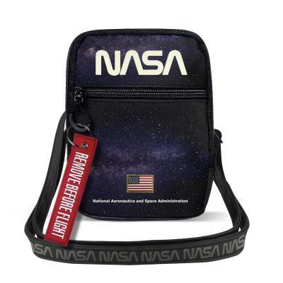 Nasa galaxy sacoche 18 5x14x2 5cm