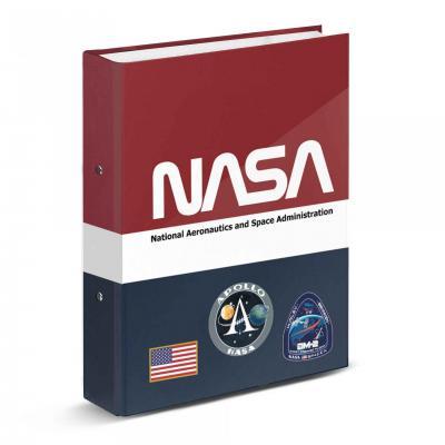 Nasa mission classeur 2 anneaux 33x28x5cm