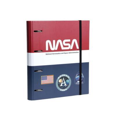 Nasa mission classeur 4 anneaux 32x28x3 5cm