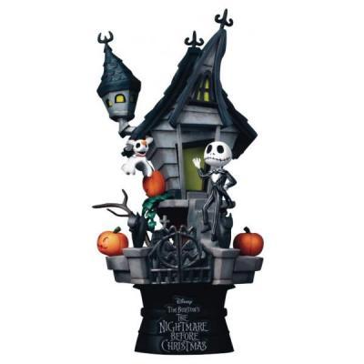 Nbx jack s haunted house diorama 15cm